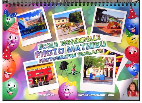 Livre photo scolaire Maternelle & Elémentaire