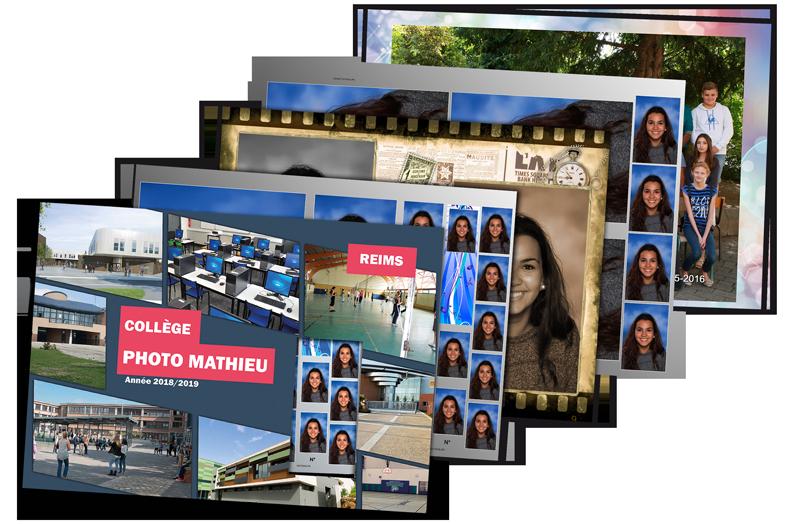 Enveloppes photo Collège & Lycée